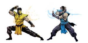 Mortal Kombat Blood Feud by anjinanhut