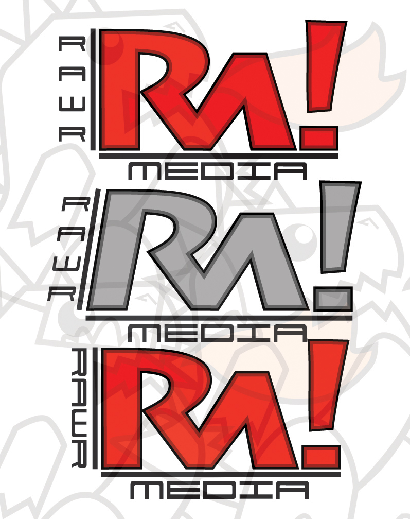 RAWR logos by Paterack