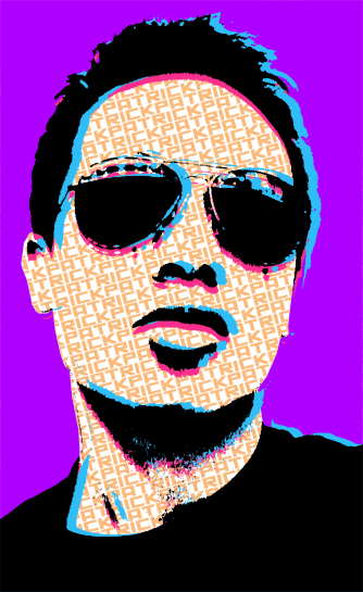 80's Self-portrait by Paterack