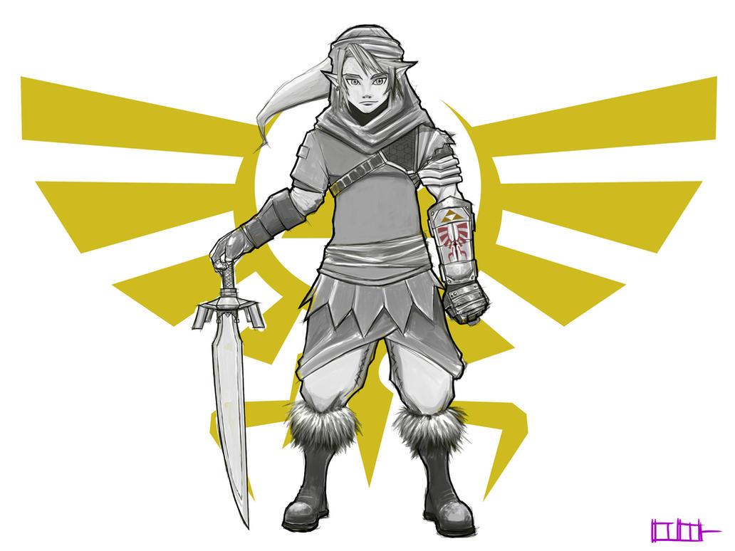 Legend of Zelda - New Link by Paterack