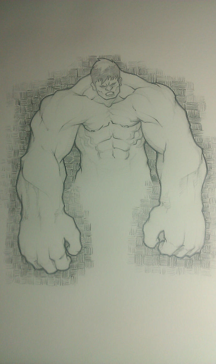 Hulk cell phone pic by Paterack