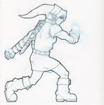 Link, Hero of Time - sketch
