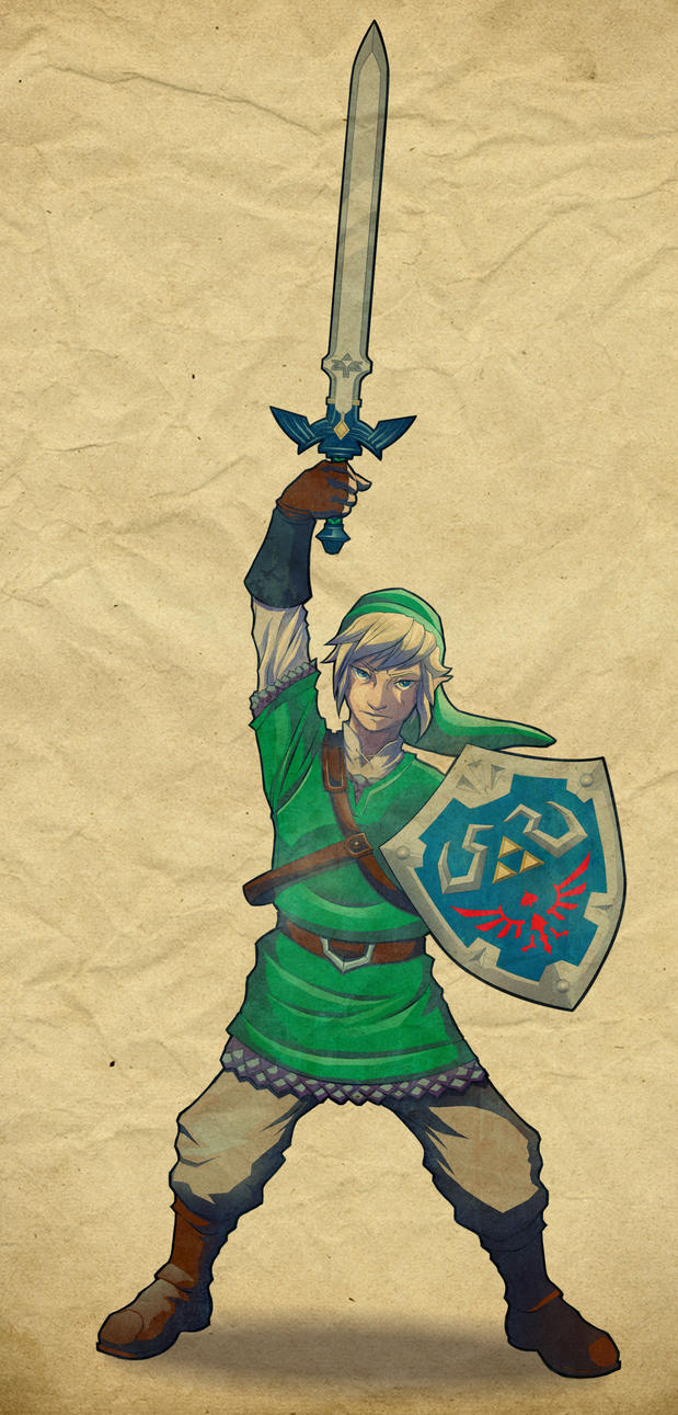 Link, The Hero of Legend by Paterack