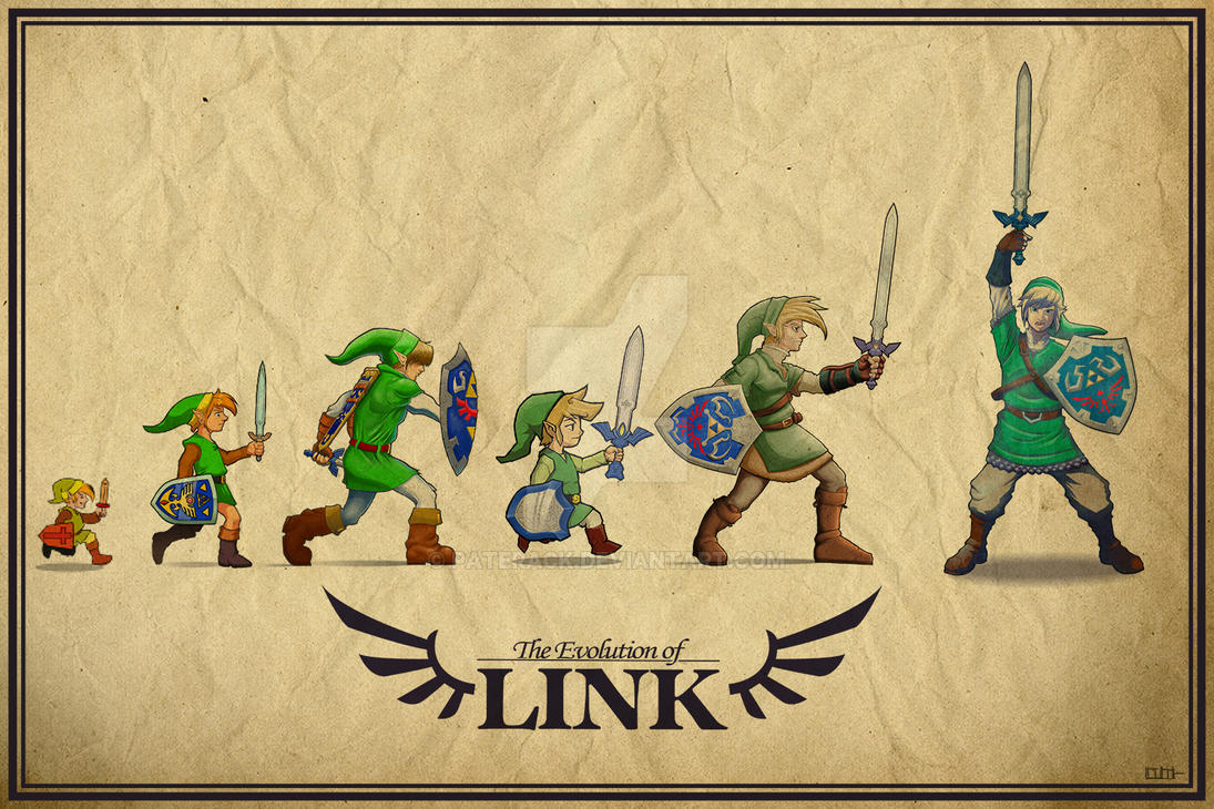 The Evolution of Link by Paterack