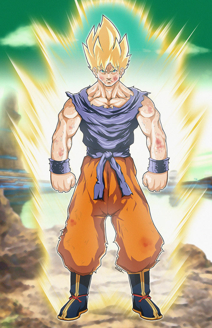 Goku, The Super Saiyan by Paterack