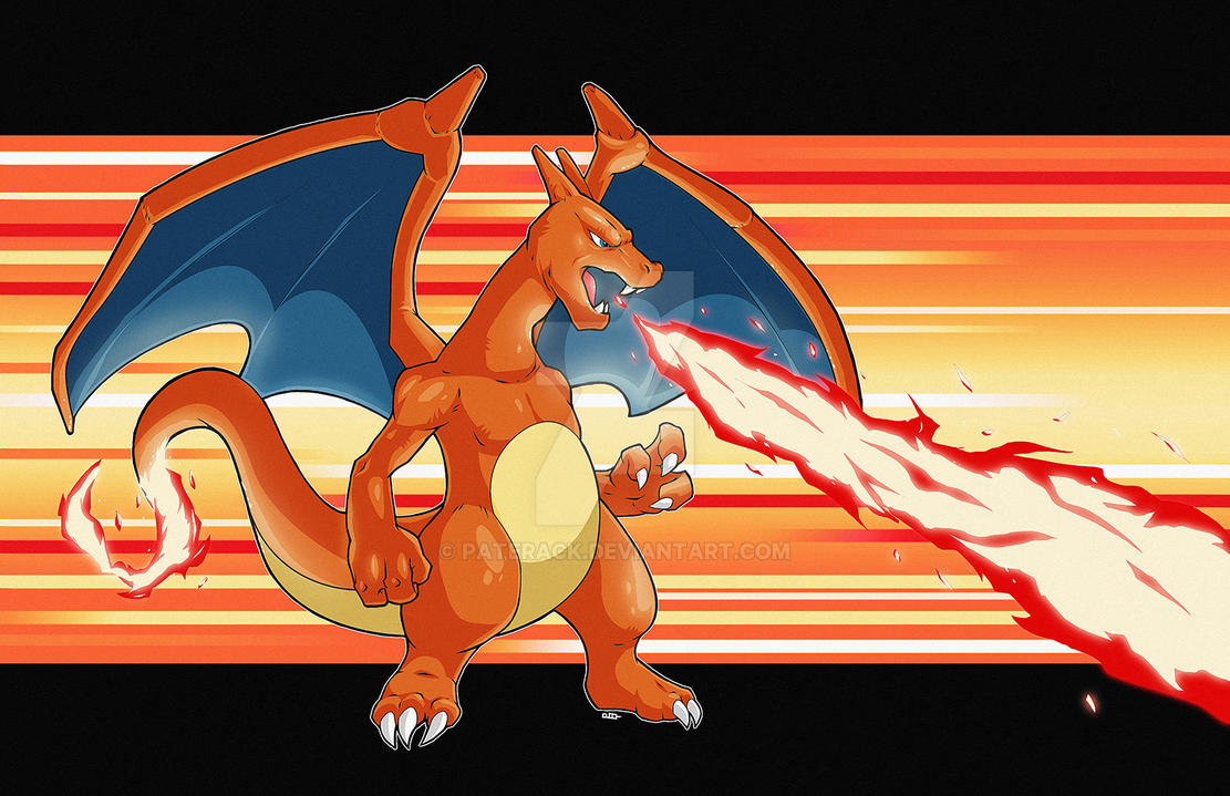 Charizard, Go! by Paterack