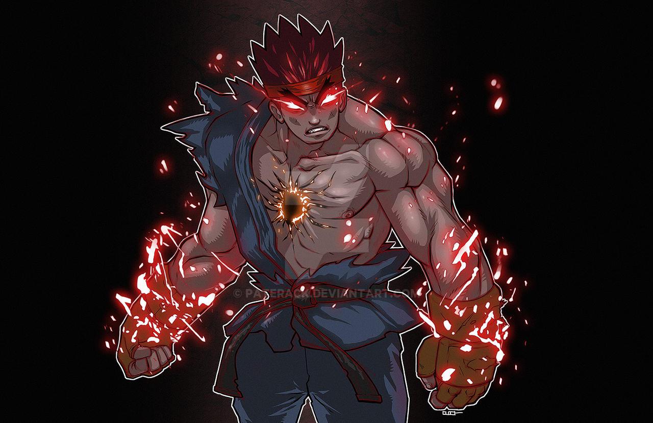 Evil Ryu by Paterack