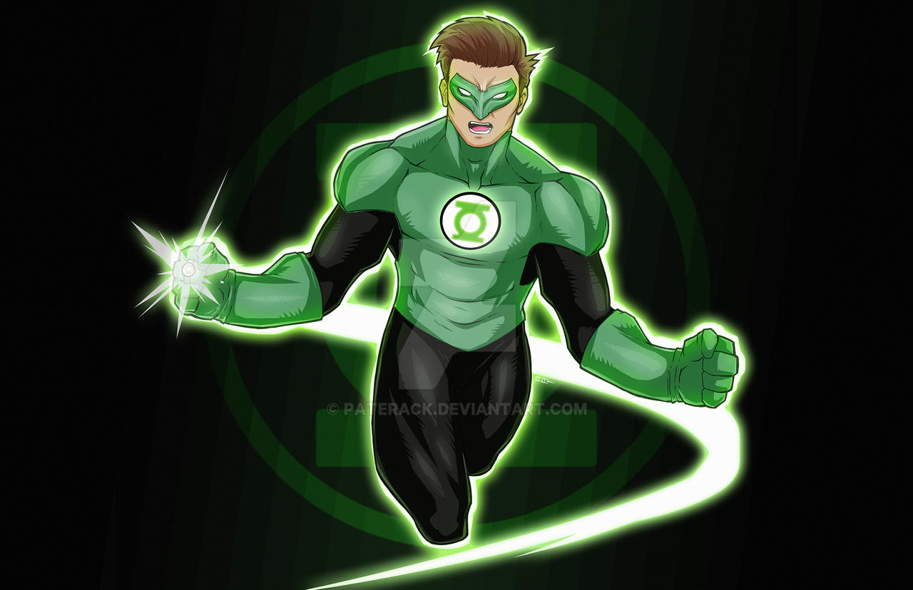 Green Lantern commission by Paterack