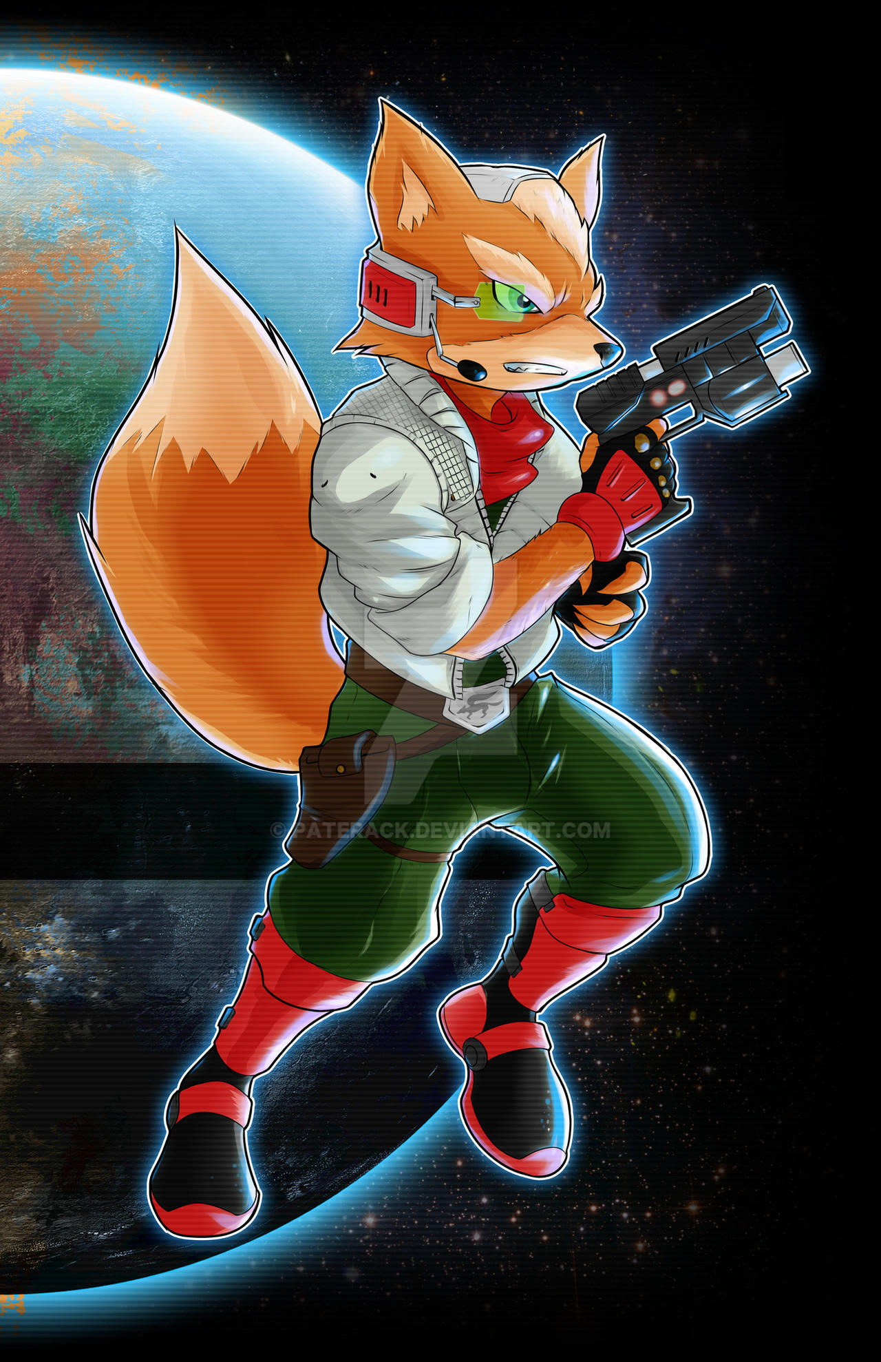 Fox McCloud by Paterack