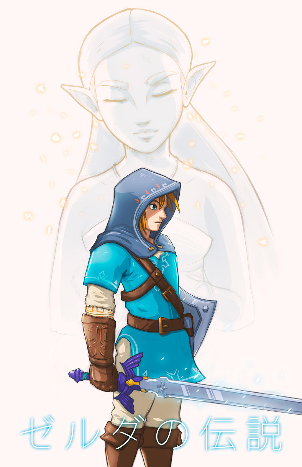 The Legend of Zelda - Breath of the Wild by Paterack