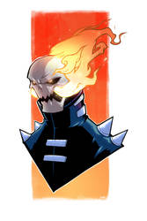 Ghost Rider - Collab by Paterack