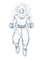 Goku - Super Saiyajin 3 by Paterack