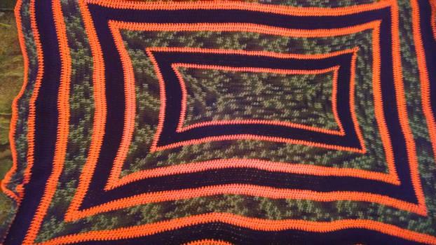 Camo Orange and Black #1