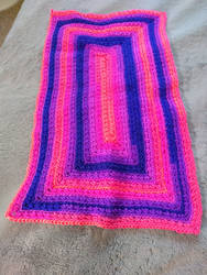 Commissioned Flamenco Doll Blanket