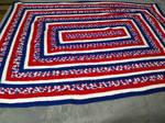 America Large Blanket by KittySib