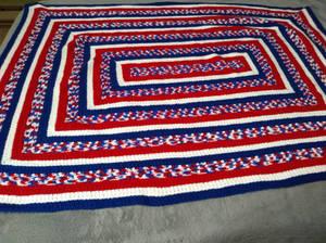 America Large Blanket