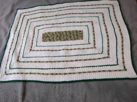 Classy Camo Baby Blanket