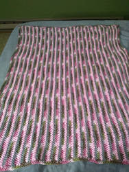 Cutie Verti Stripes Baby Blanket
