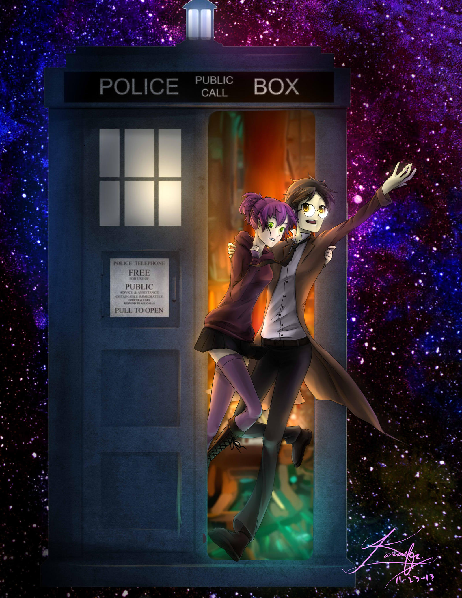 Role to Save: Doctor Dreams in the TARDIS by KanraKami