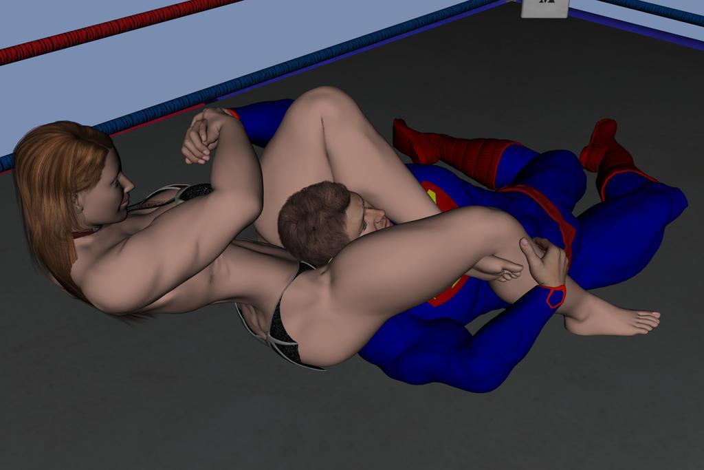 wrestling hentai