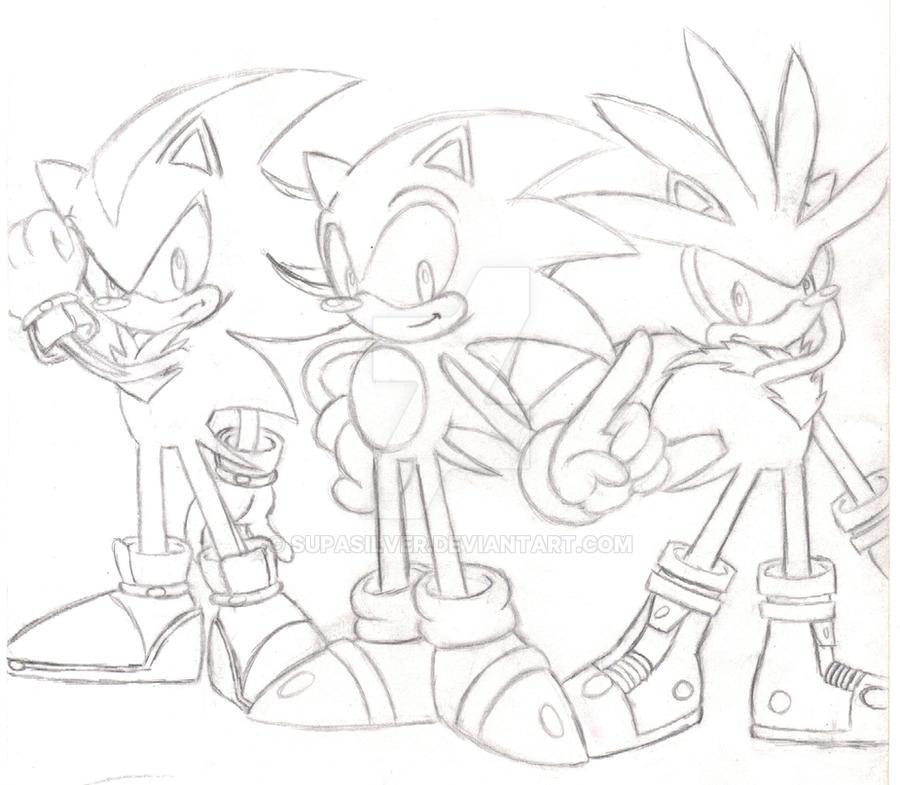 Random Sonic Shadow Silver 2 by SupaSilver on DeviantArt