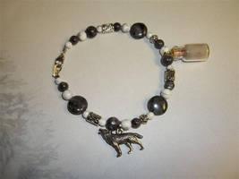 ~HakuiWahyaWolfy's Custom Arctic Wolf Bracelet by DaybreaksDawn