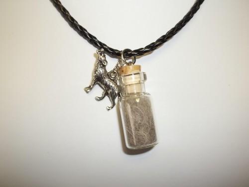 Wolf totem necklace - photo#7