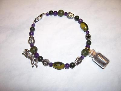 Silver Fox Spirit Totem Bracelet by DaybreaksDawn