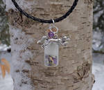 Arctic Fox Spirit Healing Pendant by DaybreaksDawn