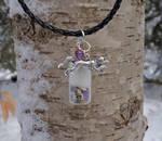 Arctic Fox Spirit Healing Pendant by DaybreaksDawn