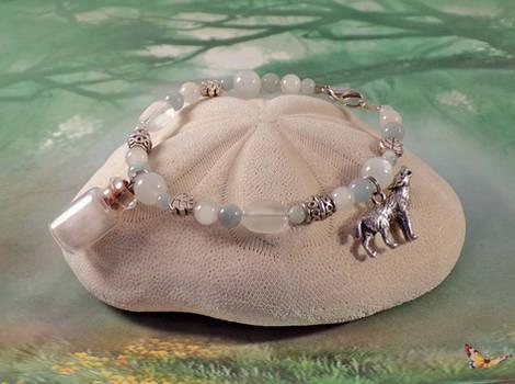 White Wolf Lunar Spirit Healing Bracelet