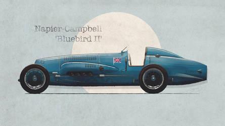 Napier-Campbell 'Bluebird II'