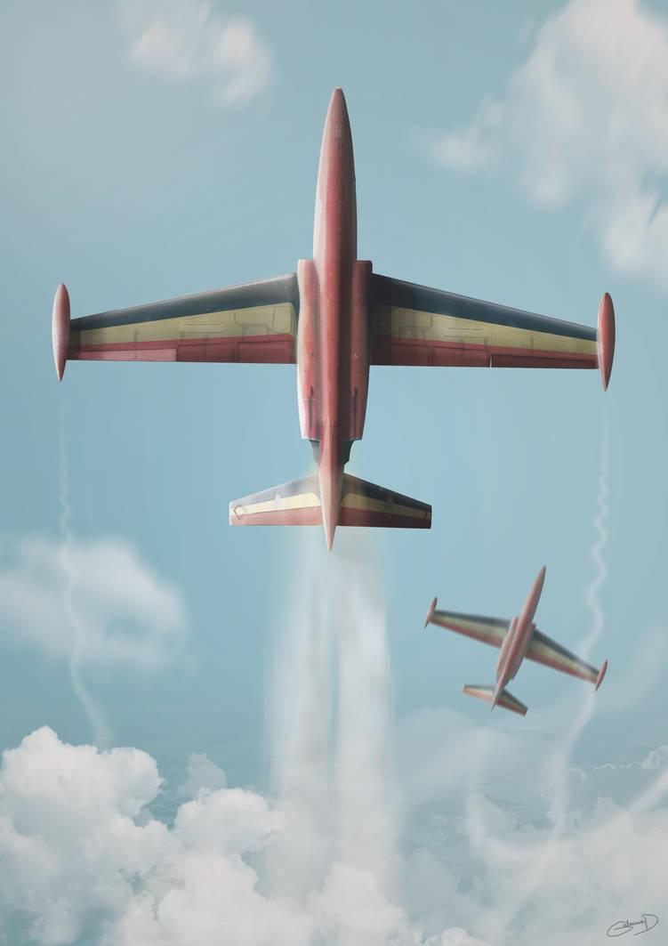 Fouga Magister - Red Devils - Belgian Air Force