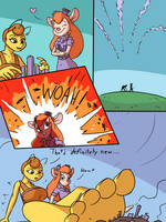 Gadget and Queenie's Hobby by picjusbro