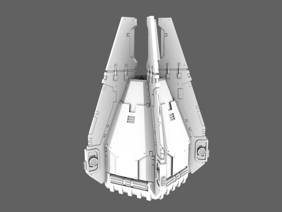 Drop pod with doors closed WIP by 3DPad