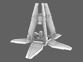 Drop pod open Propeller WIP by 3DPad