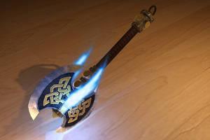 Dwarf Enchanted Axe by 3DPad