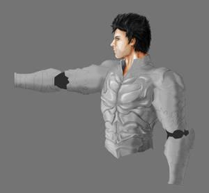 Wrath - the Third Original WIP Silver Armour