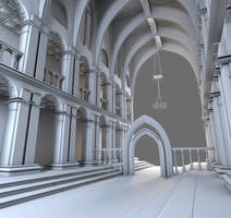 Sanctuary - Cathedral WIP (UPDATE) by 3DPad