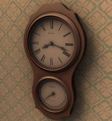 Wall Clock - 3D Render