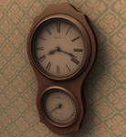Wall Clock - 3D Render