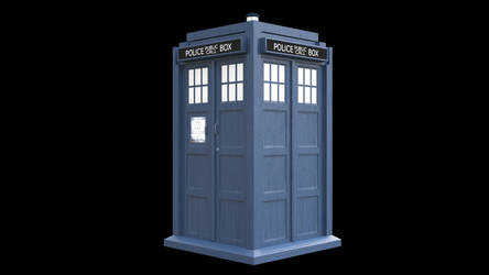 Tardis Update - 3D Render by 3DPad