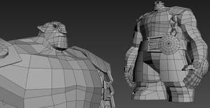 Darksiders  Ulthane WIP V2 by 3DPad