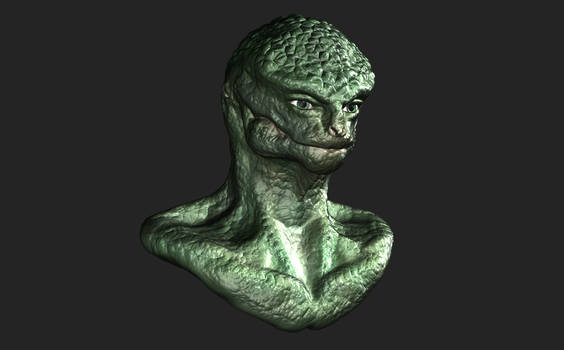 Zbrush - First Sculpt