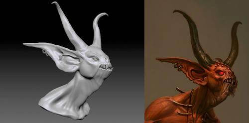 Diablo 3 - Fallen Shaman WIP 4 by 3DPad