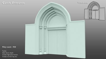 Castle Entrance - WIP