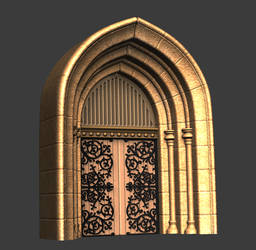 Zbrush Sculpt - Archway by 3DPad