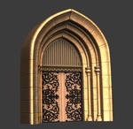 Zbrush Sculpt - Archway