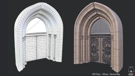 Castle Entrance - In-Game Model