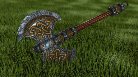 Dwarf Axe - 3Ds Max Beginners Turorial
